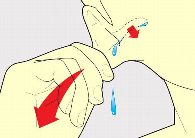Sacar agua de la oreja