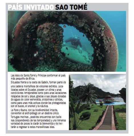 País Invitado: Santo Tomé