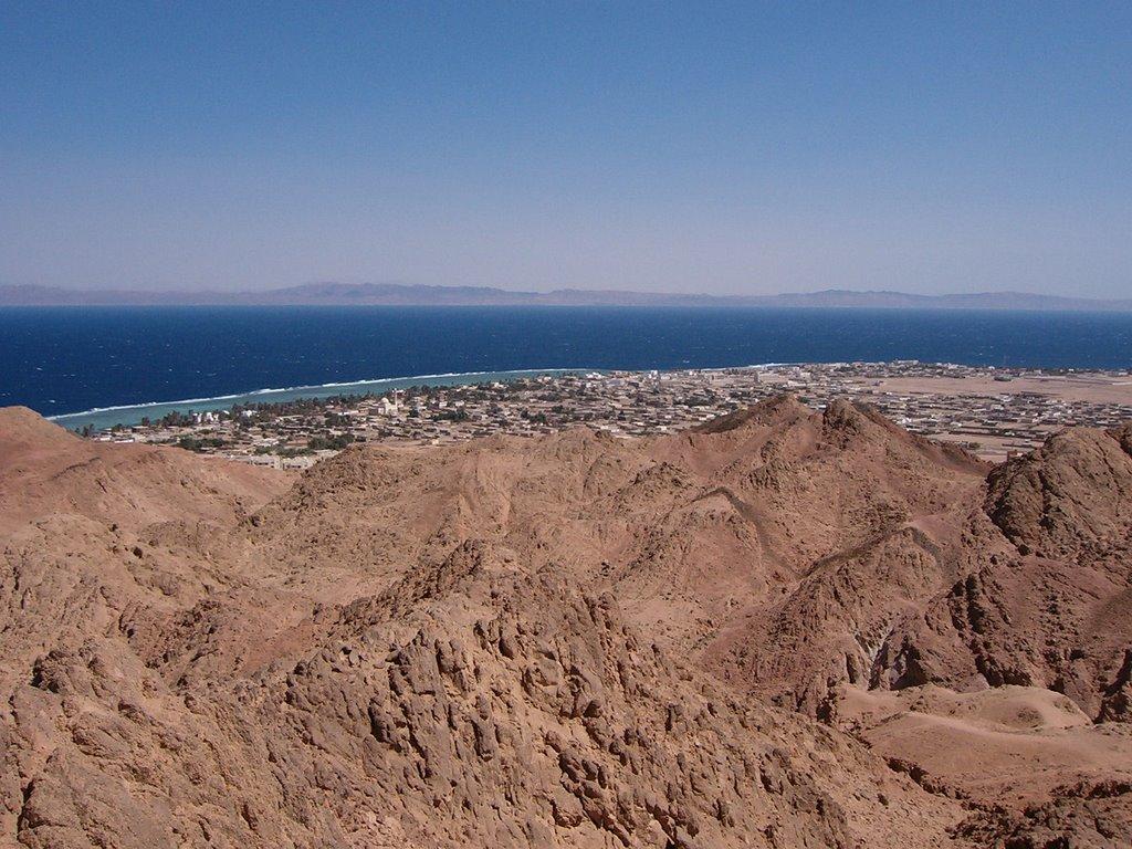 Dahab desde las montañas