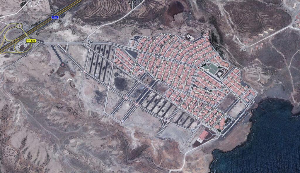Abades (vista aérea)